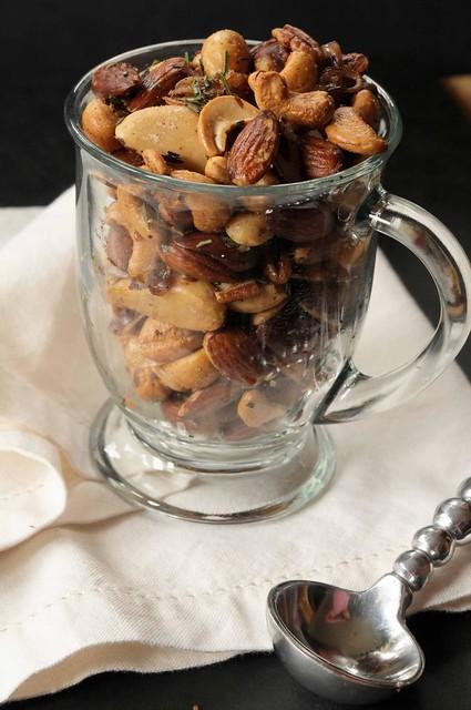 nuts in mug