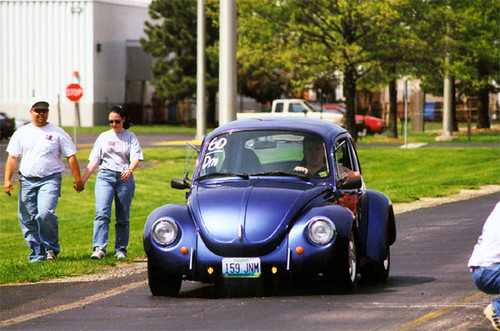 73 Super Beetle Autocrossing