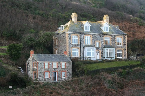 Port Issac - Doc Martin's surgery by Stocker Images
