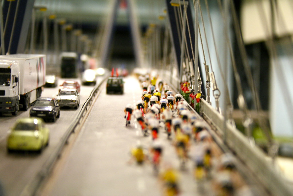Miniature Bicycle Race by Andrey Belenko, on Flickr