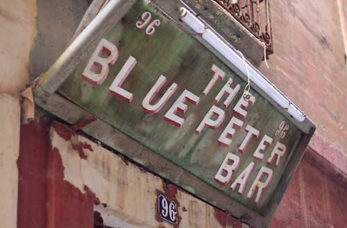 THE BLUE PETER BAR