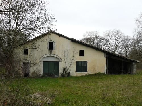 Saint Cricq-du-Gave (40), maison abandonnée de l'impasse du château