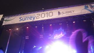 Surrey Celebration Site | Vancouver 2010