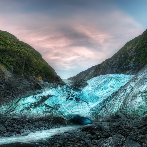 The Icy Cave at the Franz Josef Glacier