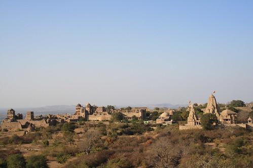 india fort rajasthan chittorgarh