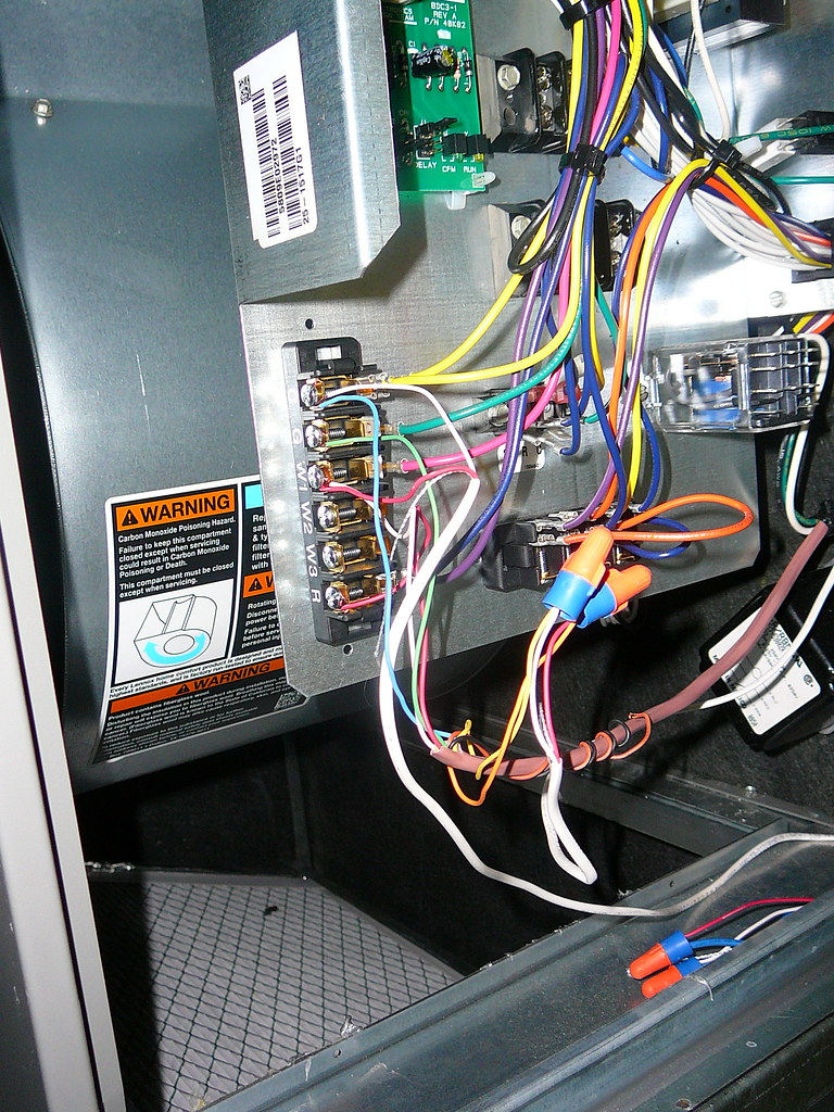 Wiring Tradeline L6006c Aquastat To Lennox Cbwmv Hydronic Air Handler