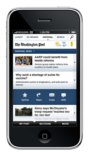 The Washington Post iPhone App