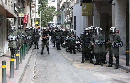 Αστυνομοκρατούμενη Αθήνα