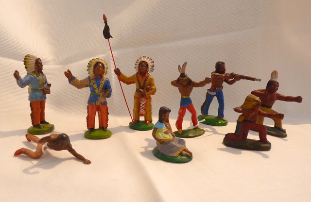 Ddr indianer lisanto figuren anton röder