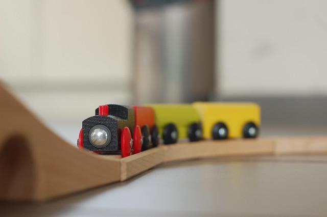 train en bois ikea lillabo flickr photo sharing. Black Bedroom Furniture Sets. Home Design Ideas