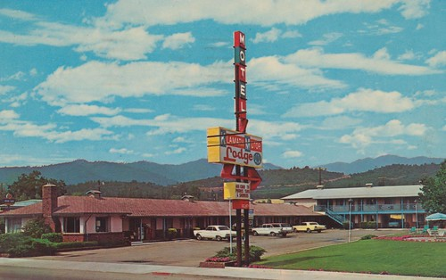 The Cardboard America Motel Archive Klamath Motor Lodge