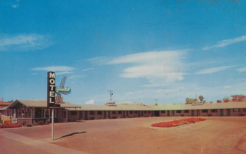 price vintage utah phonebooth postcard motel bestwestern aaa 1960 greenwell dirtparkinglot