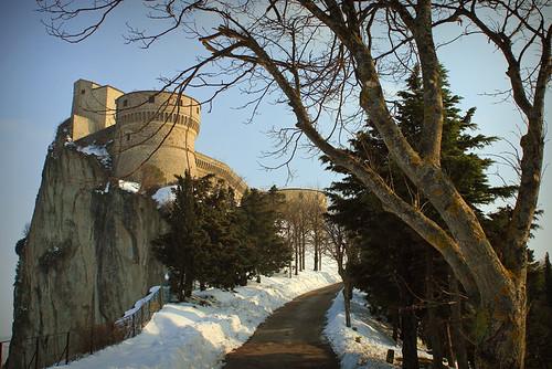San Leo e la sua rocca: aspettando la primavera