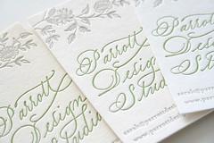 letterpress lovelies
