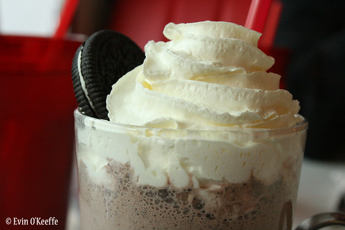 Chocolate Oreo Milkshake