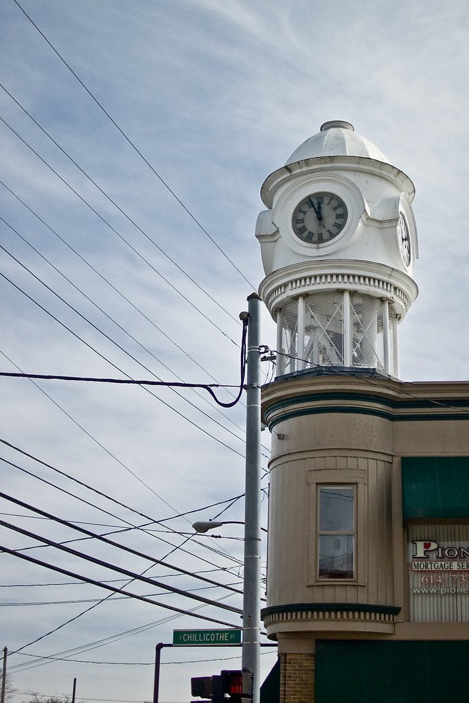 Plain City Town Clock