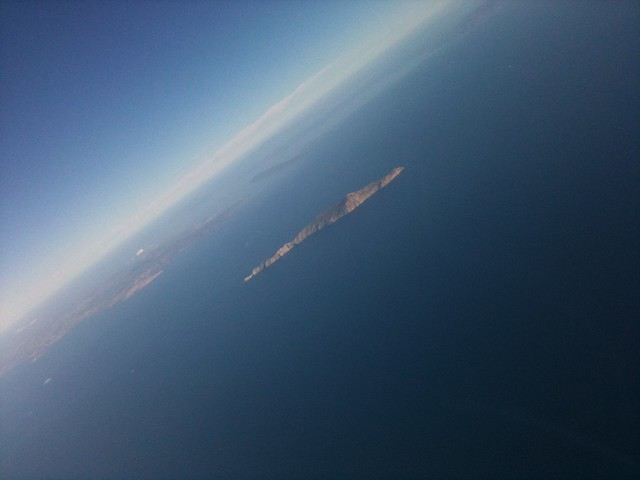 shoots from airplane