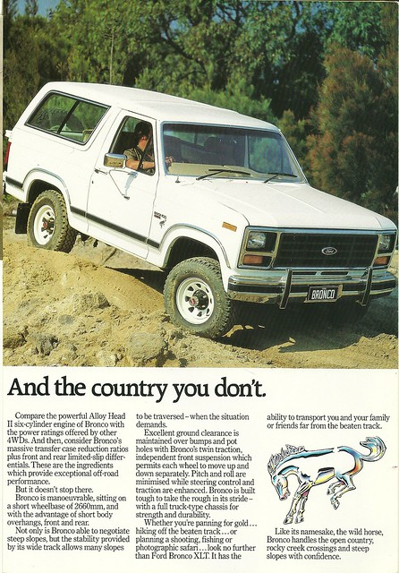 1984 Ford Bronco as made in Australia | Flickr - Photo ...
