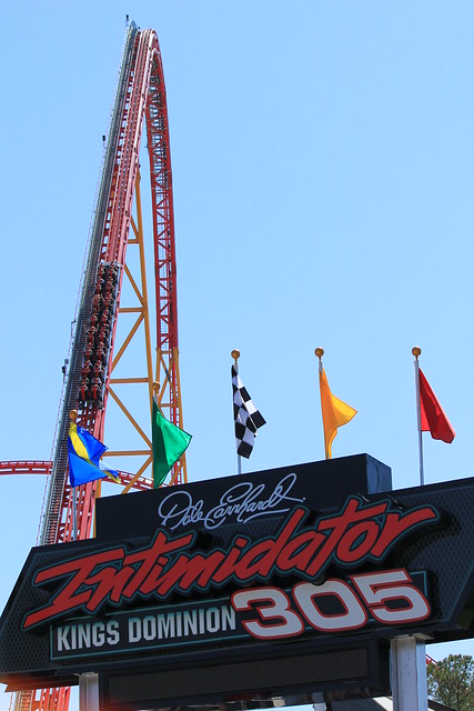 Intimidator 305 climb hill | Explore daveynin's photos on ...