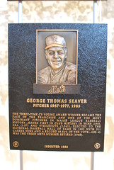 Tom Seaver Hall of Fame Plaque