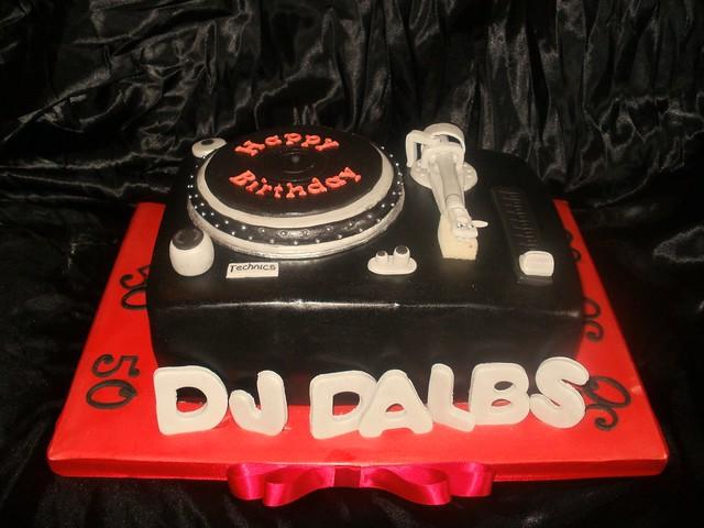 Dj Decks Cake Flickr Photo Sharing
