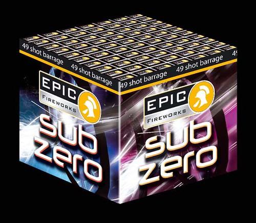 SUB ZERO - Epic Fireworks Barrage