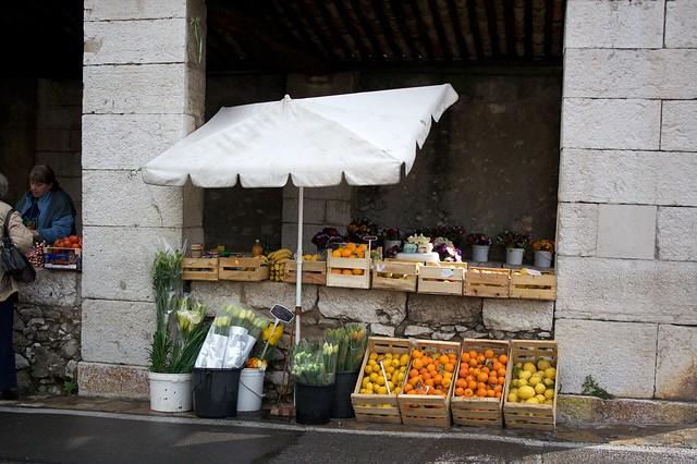 St. Paul de Vence - Little Market