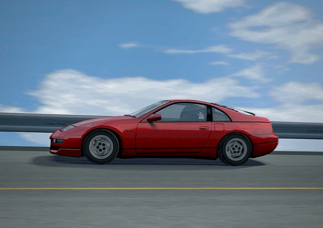 gran turismo 4 nissan 300zx 2 seater z32 39 98 flickr. Black Bedroom Furniture Sets. Home Design Ideas