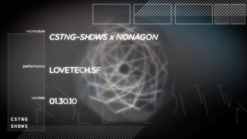 CSTNG-SHDWS  x Nonagon Live Video/Audio on Vimeo by Colin Sebestyen