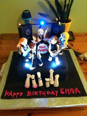 How To Make A Cake Iron Maiden