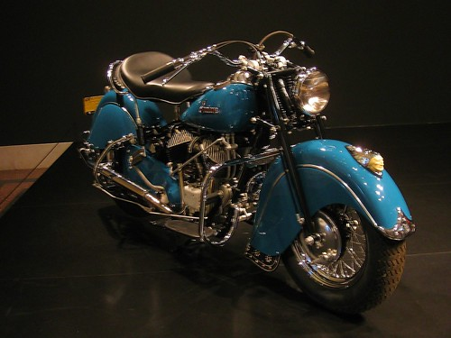 1940s Indian Chief Motorcycle