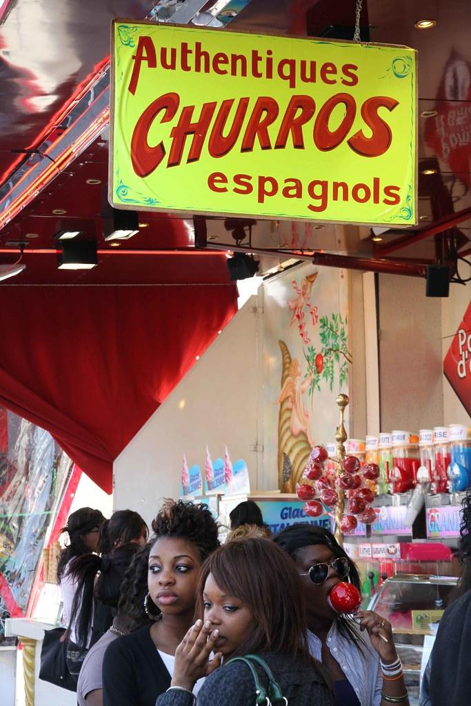 10d16 Foire du Trône 1011 Auténticos churros españoles