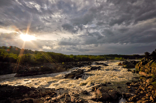 Evening at Great Falls