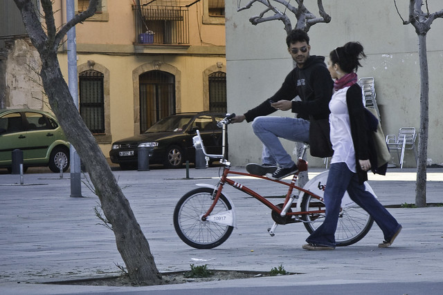 Barcelona Pushbike