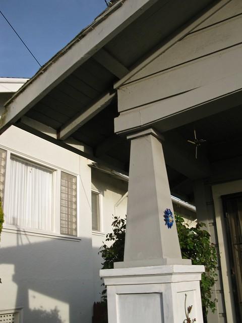 Craftsman Style Architectural Detail Battered Column