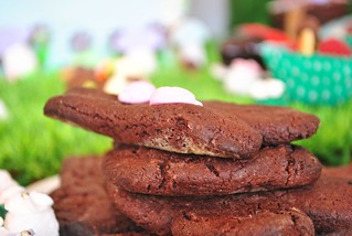 Chocolate bunny cookies