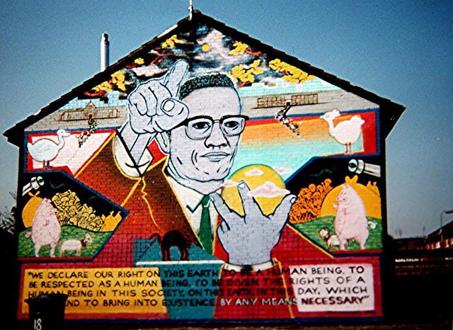Gable End Mural In The Ardoyne Belfast Flickr Photo
