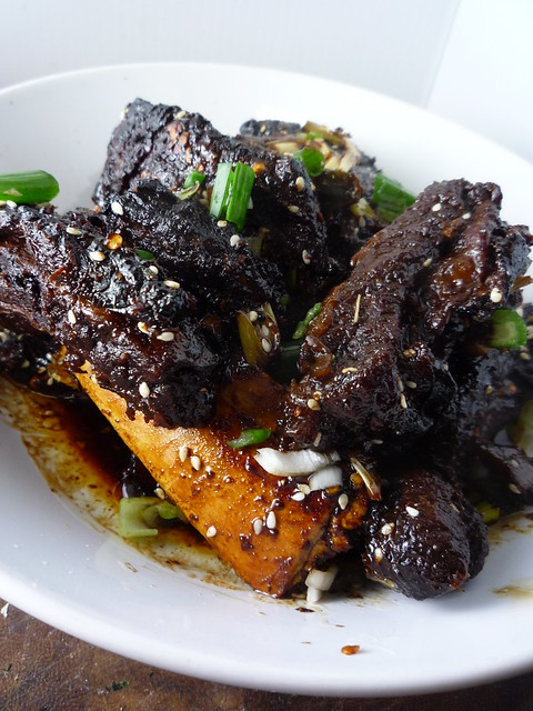 Galbi ( Korean Beef Ribs)