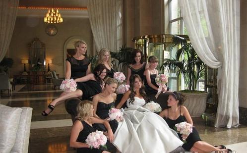Danneel Harris bridesmaids