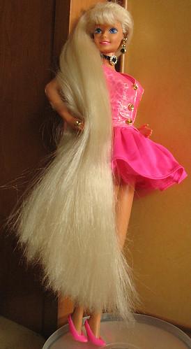 barbie haare schneiden
