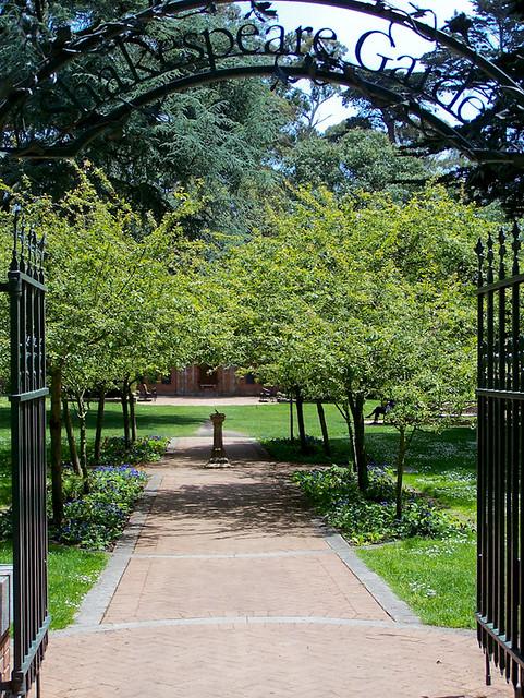 Shakespeare Garden San Francisco Flickr Photo Sharing
