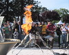 Maker Faire Bay Area 2010 The Twins Fire Sculpture 06