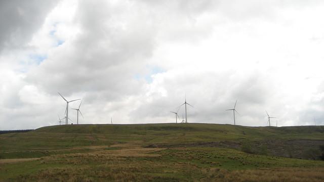 Day 839: Ffynnon Oer Windfarm