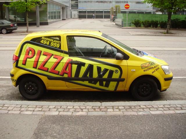 pizza taxi helsinki flickr photo sharing. Black Bedroom Furniture Sets. Home Design Ideas