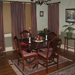 dinning room of 306 Myrtle Lane