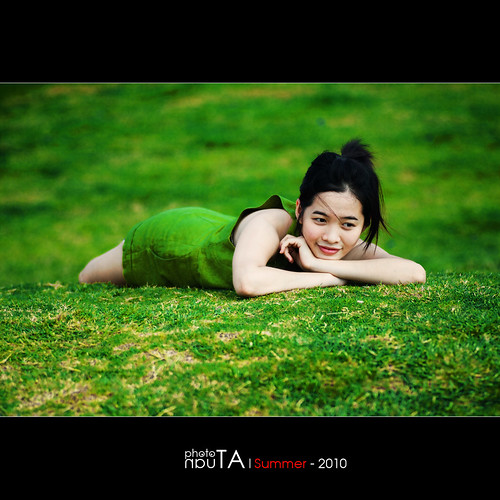 morning portrait cute green girl beautiful grass vietnamese memorycornerportraits lanthanh aloteen