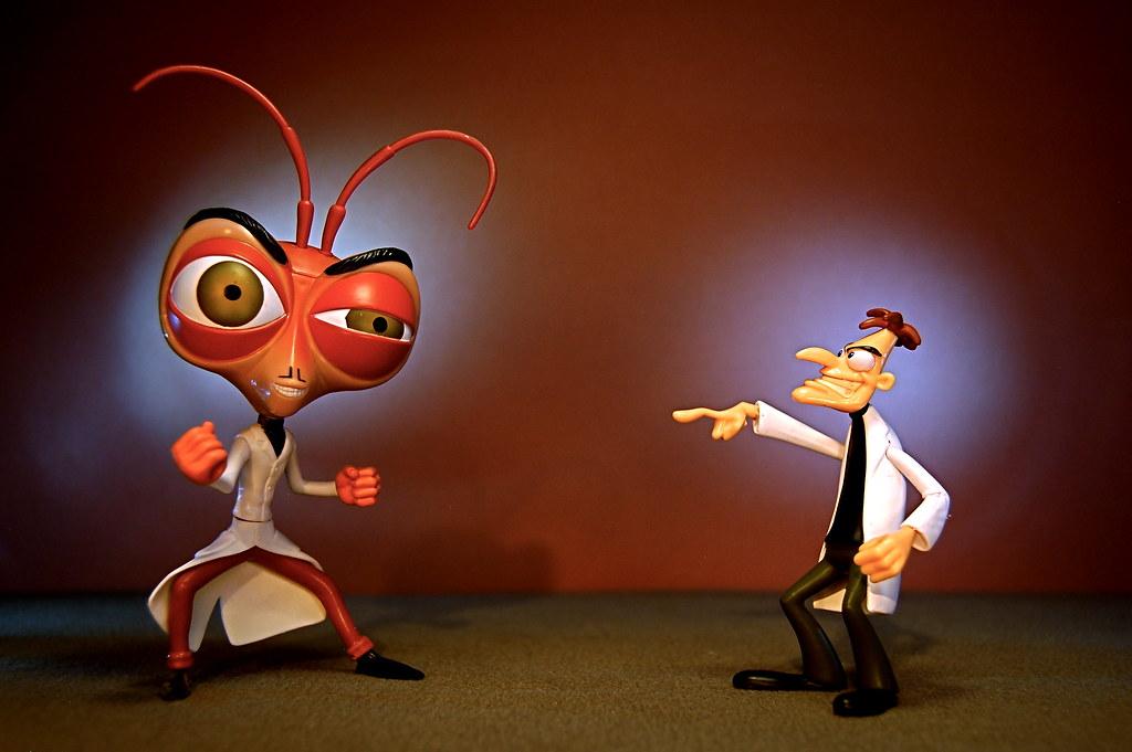 Dr. Cockroach vs. Dr. Doofenshmirtz (148/365)