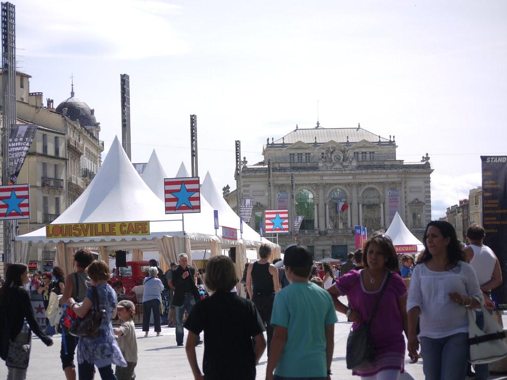 related image - Comédie du Livre 2010 - Vue d'ensemble - P1400179