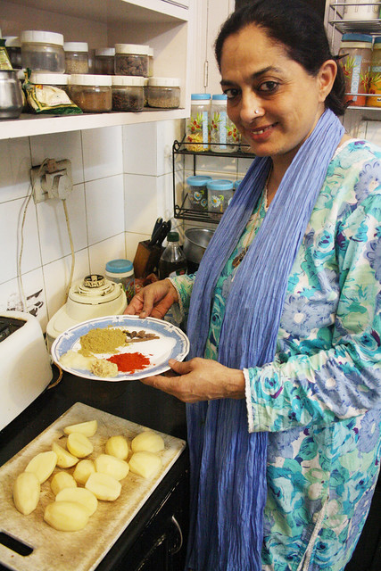 City Food - Julia Child in Nizamuddin East
