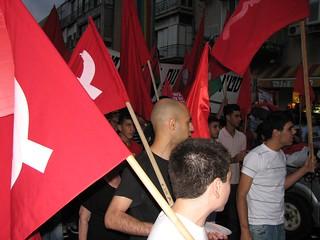 """חד""""ש בהפגנת """"הממשלה מטביעה אותנו - מוכרחים לחתור לשלום"""" לציון 43  שניה לכיבוש"""